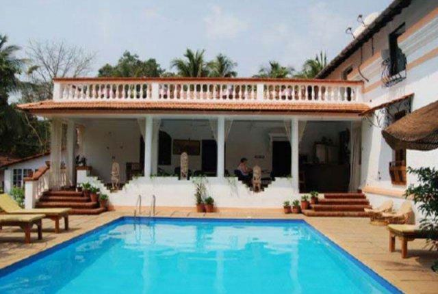 Divar island guest house retreat north goa photos reviews deals for Guest house in goa with swimming pool