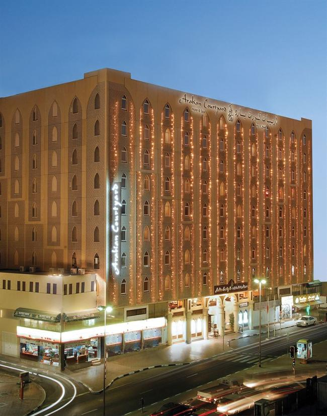 Arabian courtyard hotel and spa dubai photos reviews deals for Arabian hotel